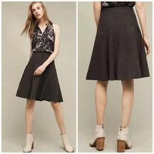 Anthropologie Maeve Hillcrest Sweater Skirt NWT